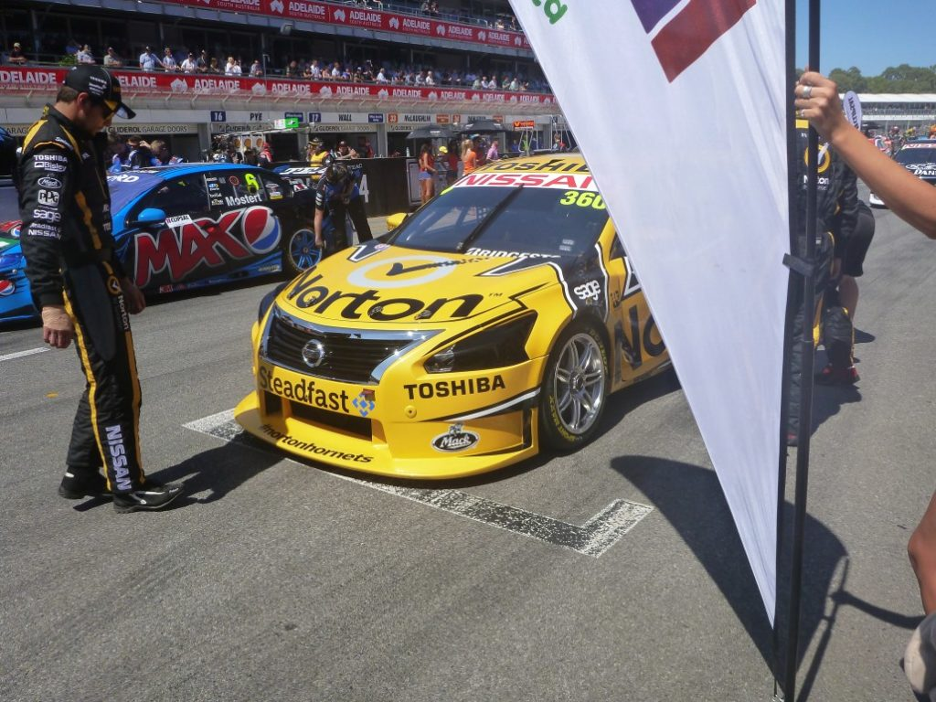 On the Grid at the Clipsal 500